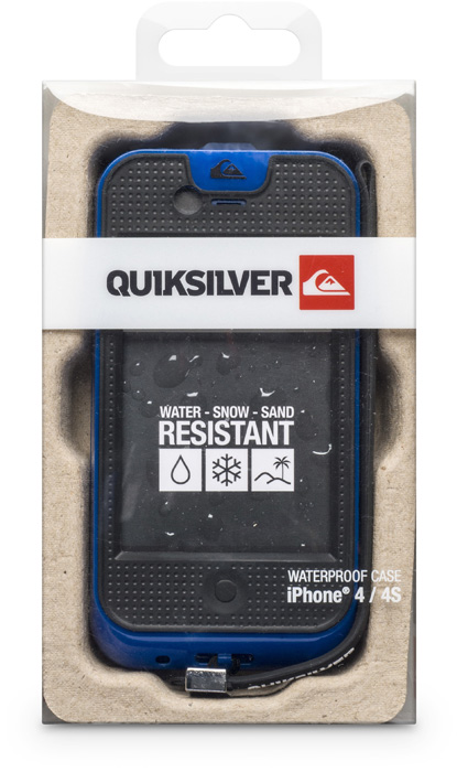 Quiksilver waterproof case for iPhone® 4/4S - Image
