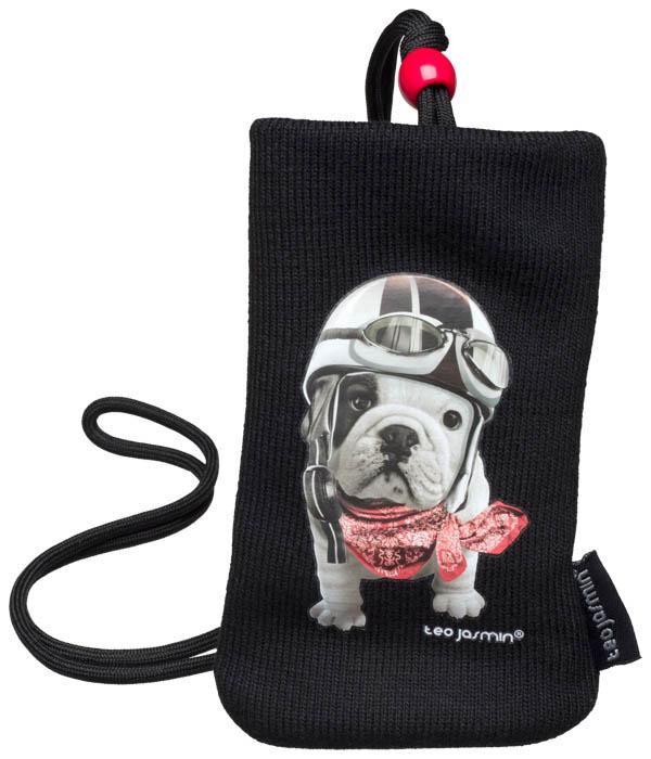 Universal Cotton Teo Jasmin Racing sock (Black) - Packshot