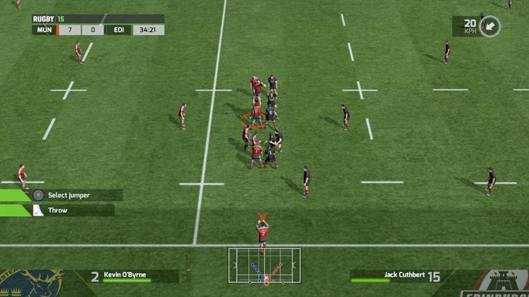 RUGBY 15 - Screenshot