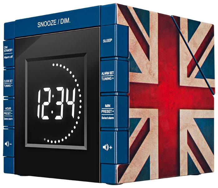 "Radio Alarm Clock Projector ""Union Jack"" - Image   #3"