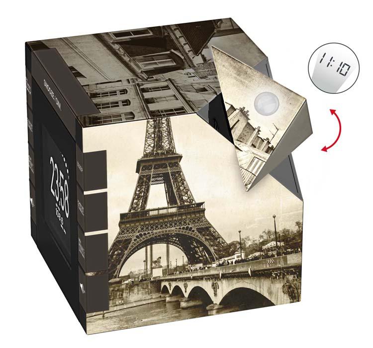 """Radio Alarm Clock Projector """"Paris"""" - Image   #5"""