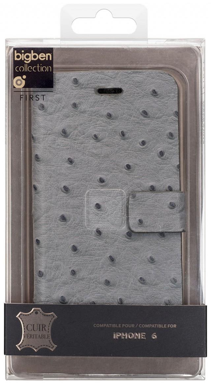 Folio Case 'Ostrich' (Grey) - Packshot