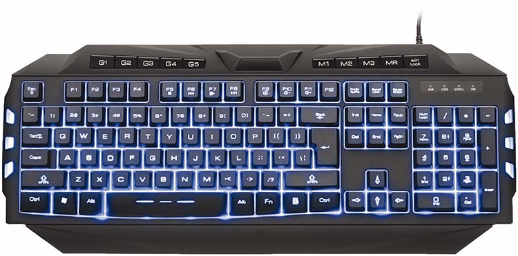 NACON Gaming keyboard with macro keys and backlighting - Packshot
