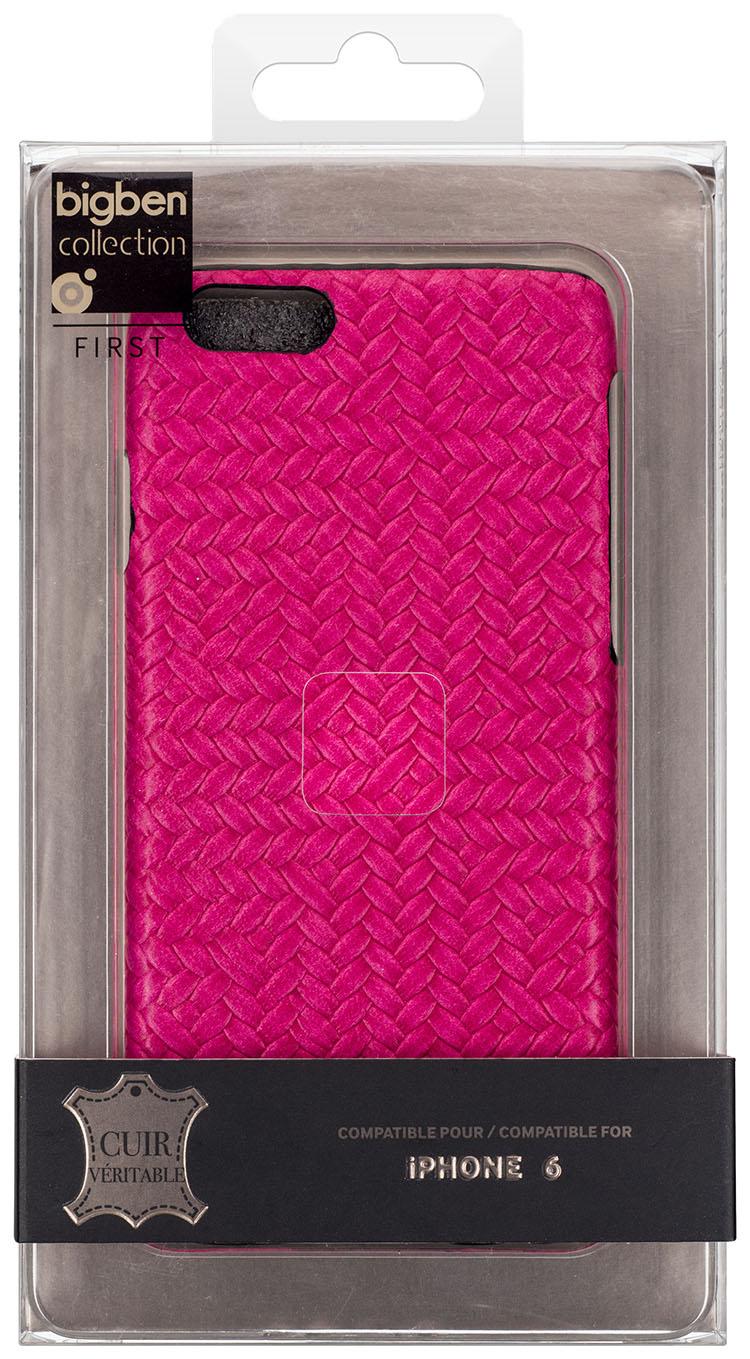 Hard Case 'Braided Leather' (Pink) - Image