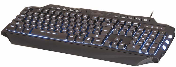NACON Gaming keyboard with macro keys and backlighting - Image