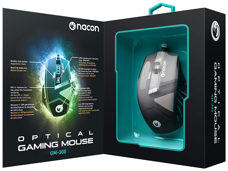 NACON Gaming Mouse with Optical Sensor - Image   #33