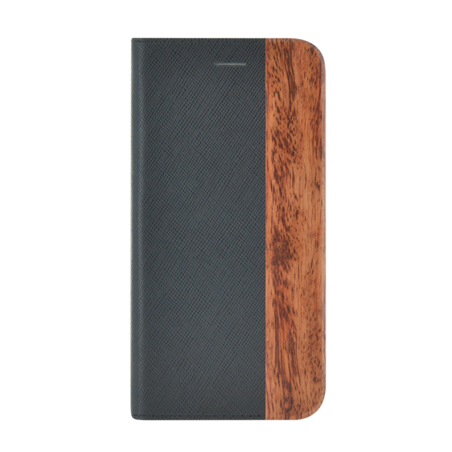 Folio Case Bi-material Wood & Leather - Packshot
