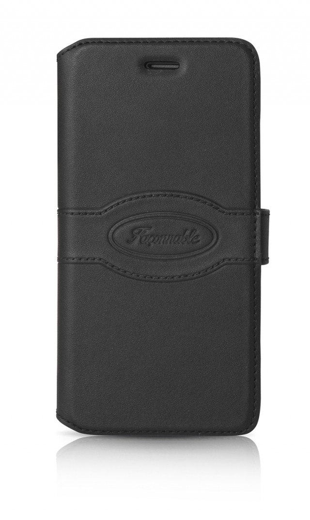 FACONNABLE Folio Case (Black) - Packshot