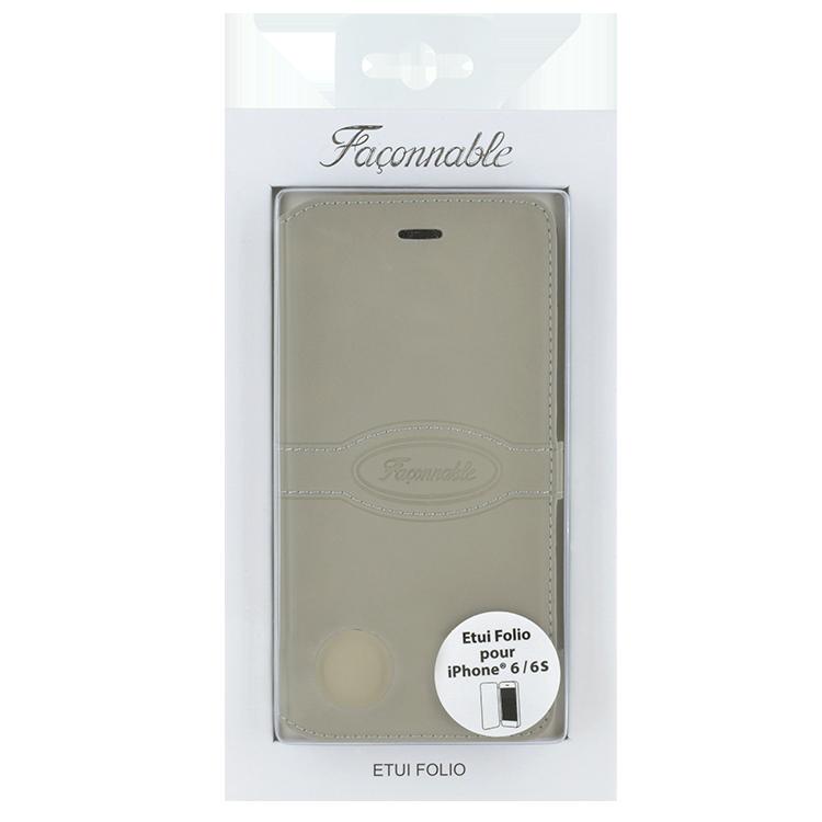 FACONNABLE Folio Case (Beige) - Image   #2