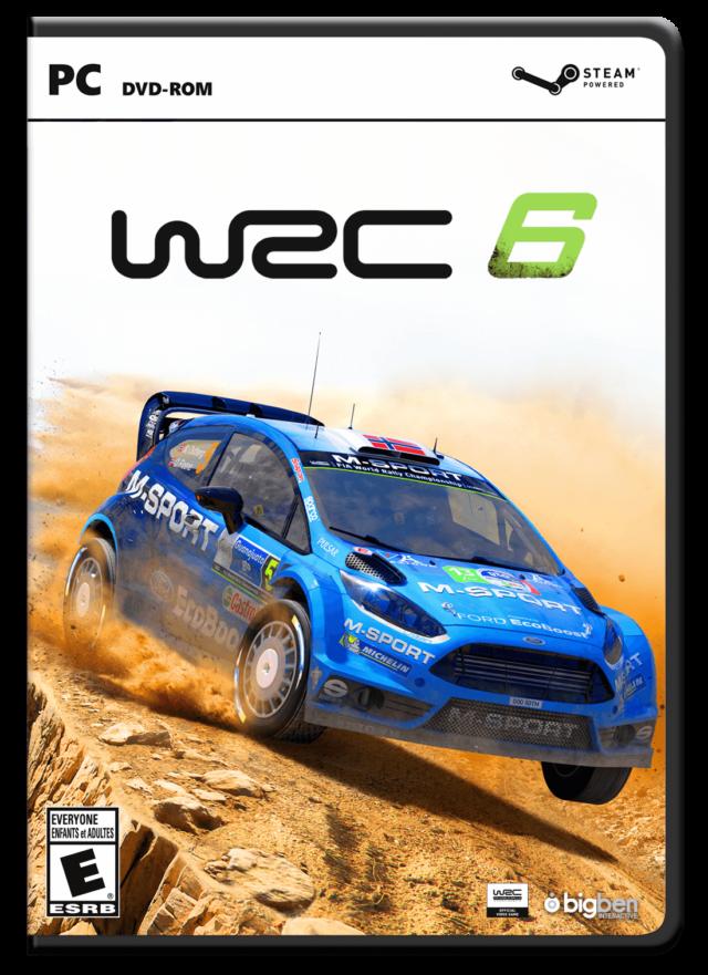 WRC 6 - Packshot