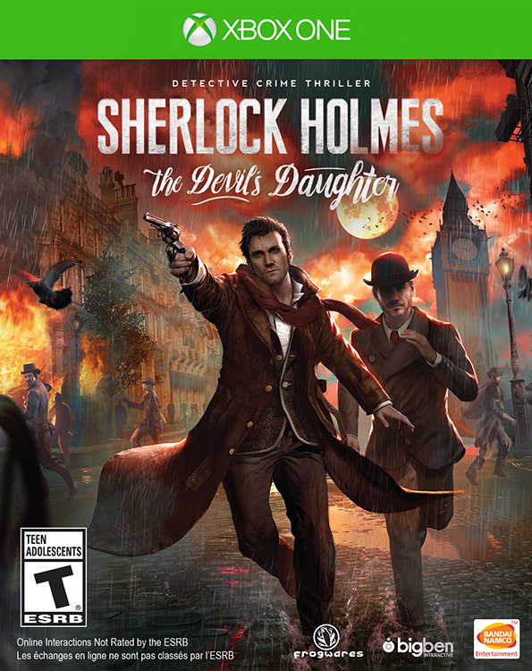 Sherlock Holmes: The Devil's Daughter - Packshot