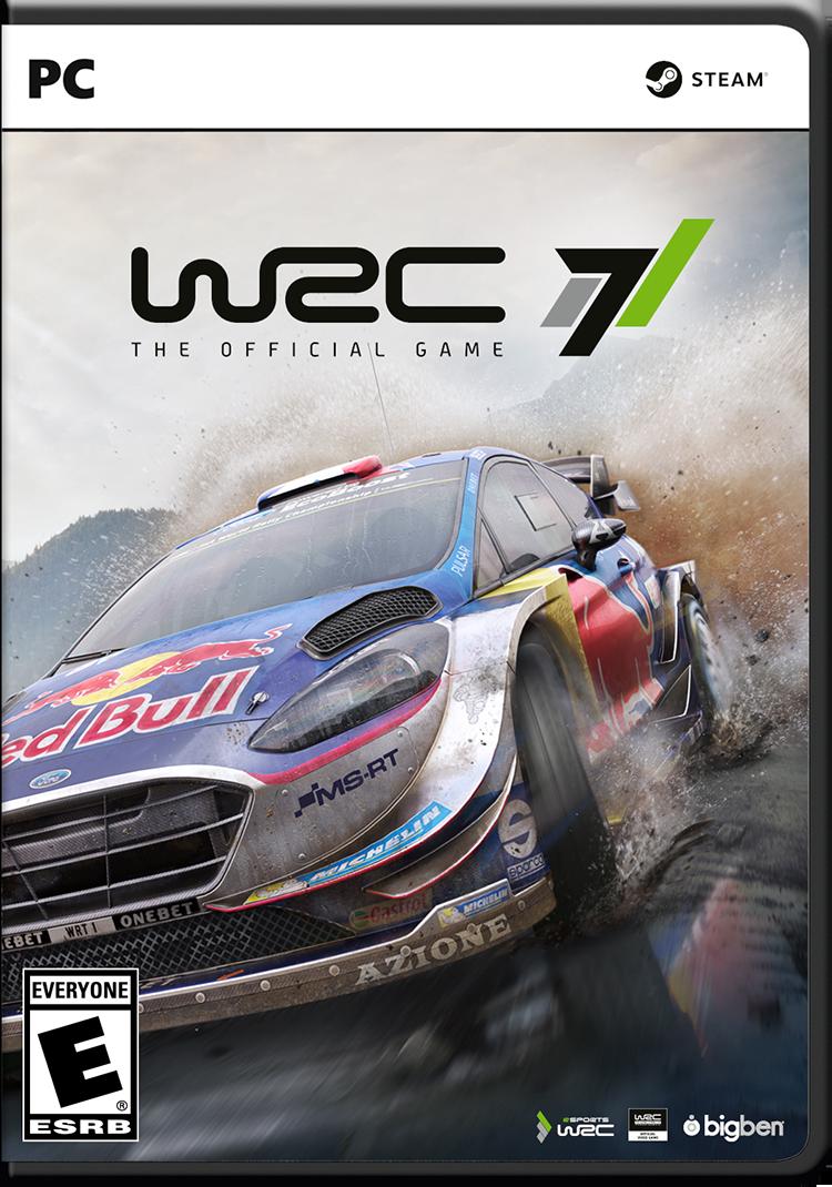 WRC 7 - Packshot