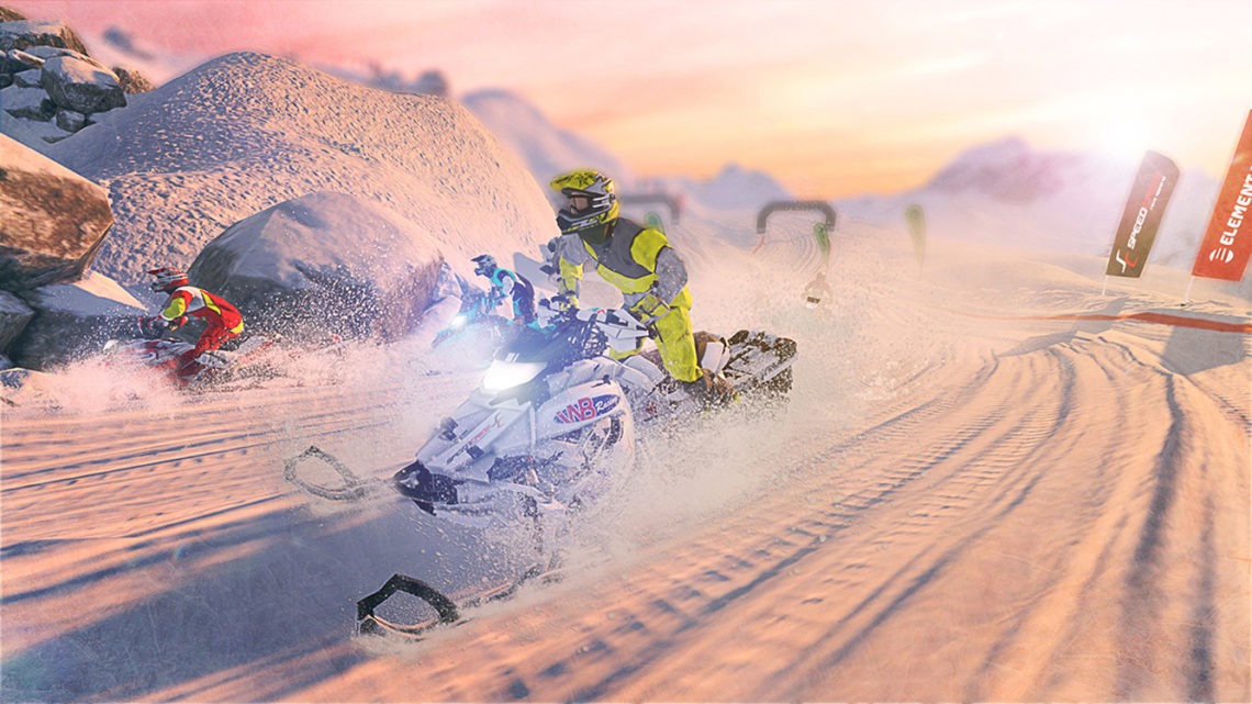 Snow Moto Racing Freedom - Screenshot