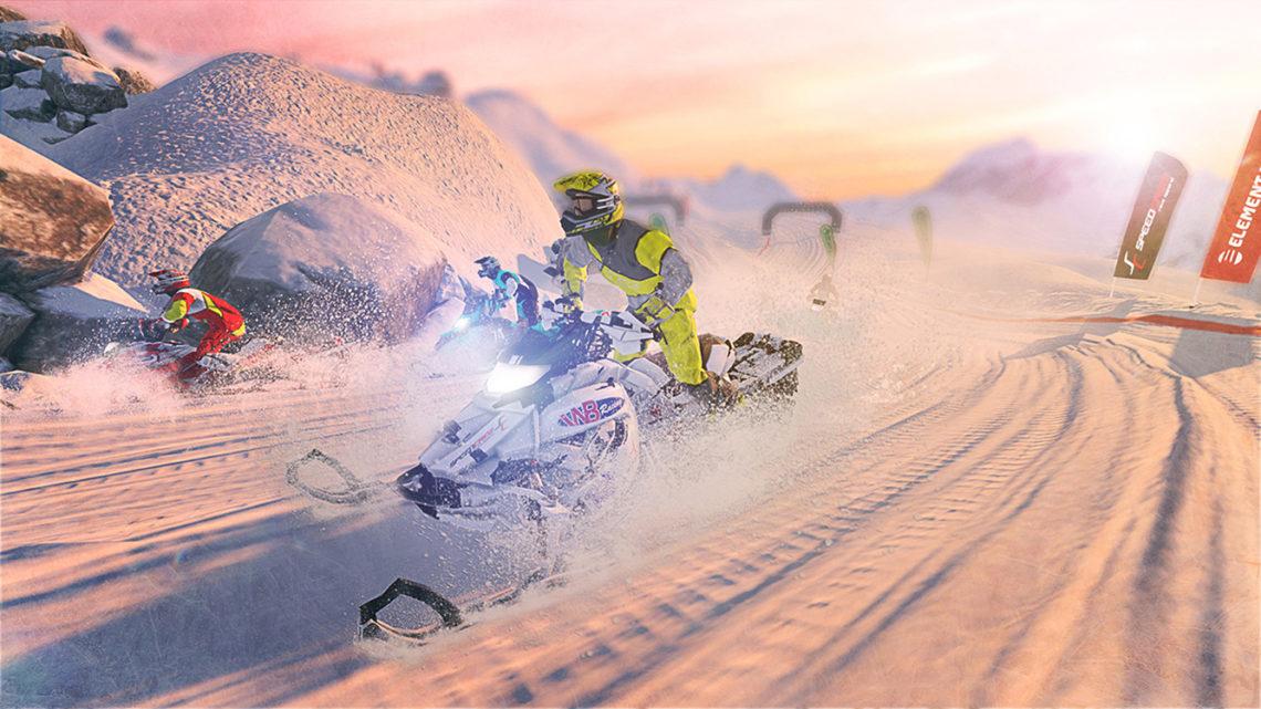 Snow Moto Racing Freedom - Screenshot