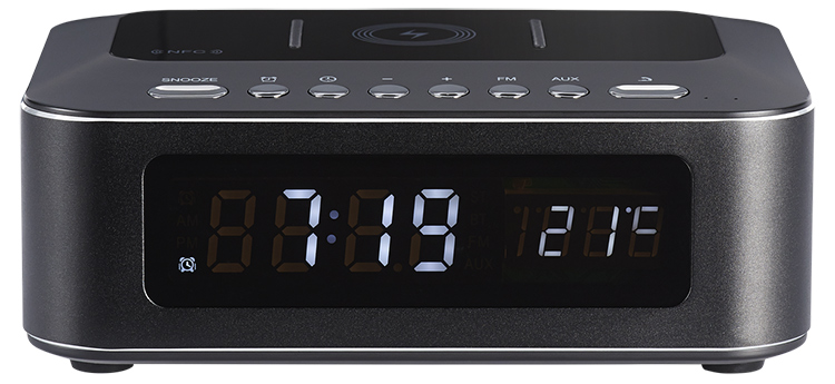 Clock radio with wireless charger CR400IBT THOMSON - Packshot