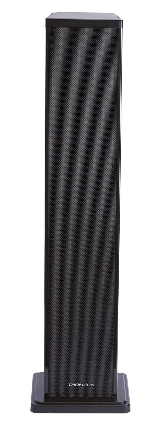 Wireless stereo speaker system (black) - Packshot
