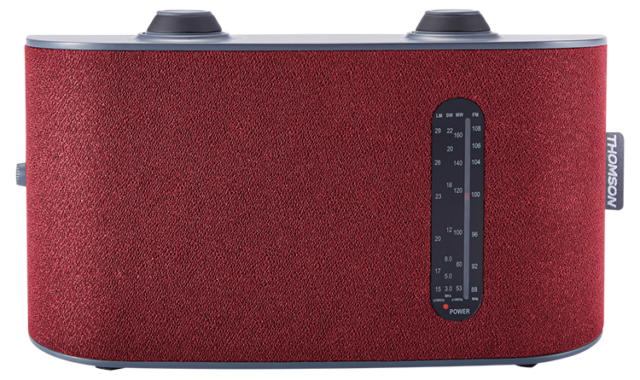 Portable radio 4 bands (red) RT250 THOMSON - Packshot