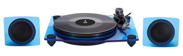 Turntable & speakers TD115BLSPS BIGBEN - Packshot