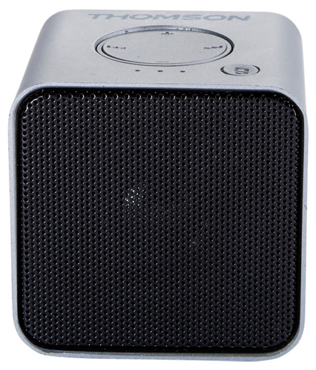 Wireless portable speaker (metallic grey) WS01GM THOMSON - Packshot