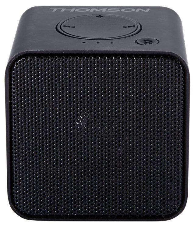 Wireless portable speaker (metallic black) WS01GM THOMSON - Packshot
