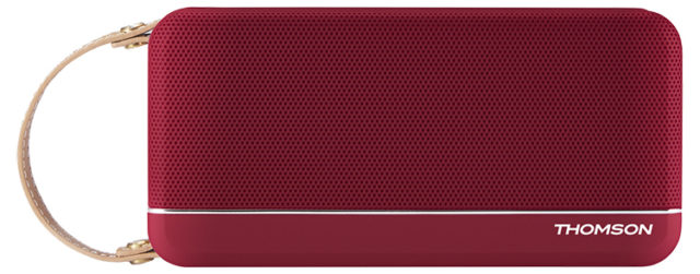 THOMSON Wireless Portable Speaker (red metallic) SB50BT - Packshot