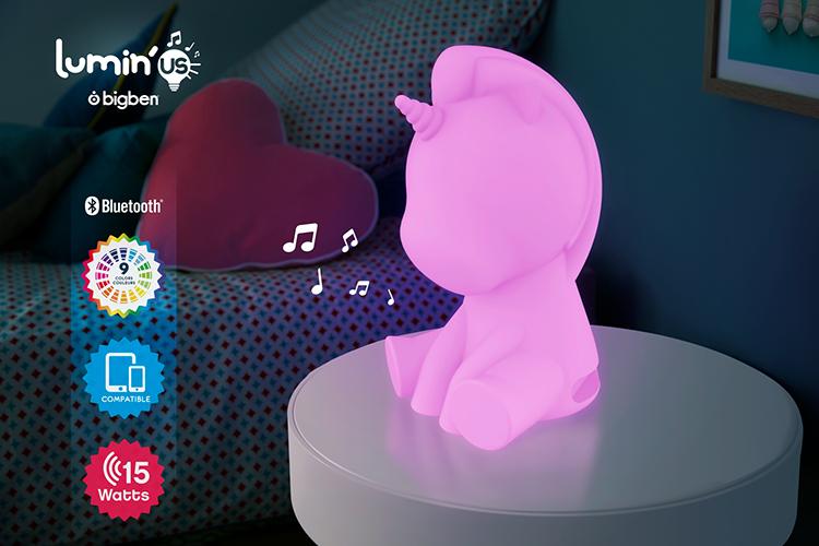 Wireless Luminous speaker Lumin'us (unicorn) BTLSUNICORN BIGBEN - Image  #2tutu#4tutu#6tutu#8tutu#10tutu