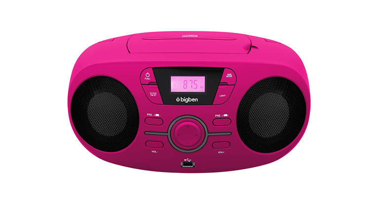 Portable CD/USB player with light effects CD61RUSB BIGBEN - Image  #2tutu