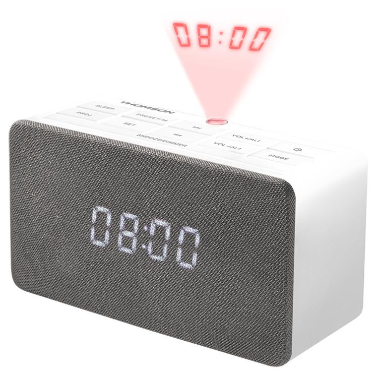 Alarm clock radio with projector CL301P THOMSON - Image  #2tutu#3
