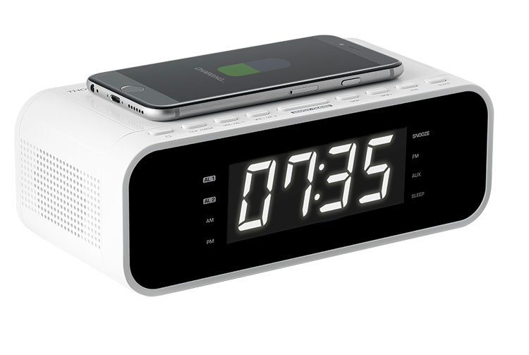 Clock radio with wireless charger CR221I THOMSON - Image  #2tutu