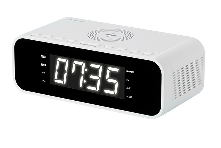 Clock radio with wireless charger CR221I THOMSON - Image  #2tutu#3
