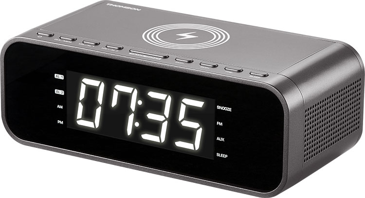 Clock radio with wireless charger CR225I THOMSON - Image  #2tutu#3