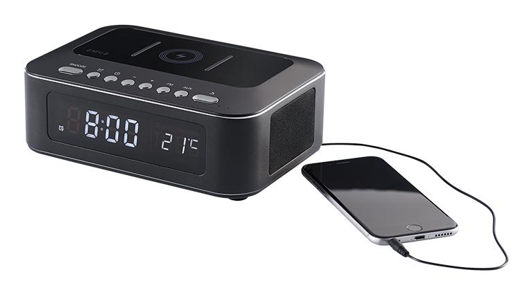 Clock radio with wireless charger CR400IBT THOMSON - Image  #2tutu