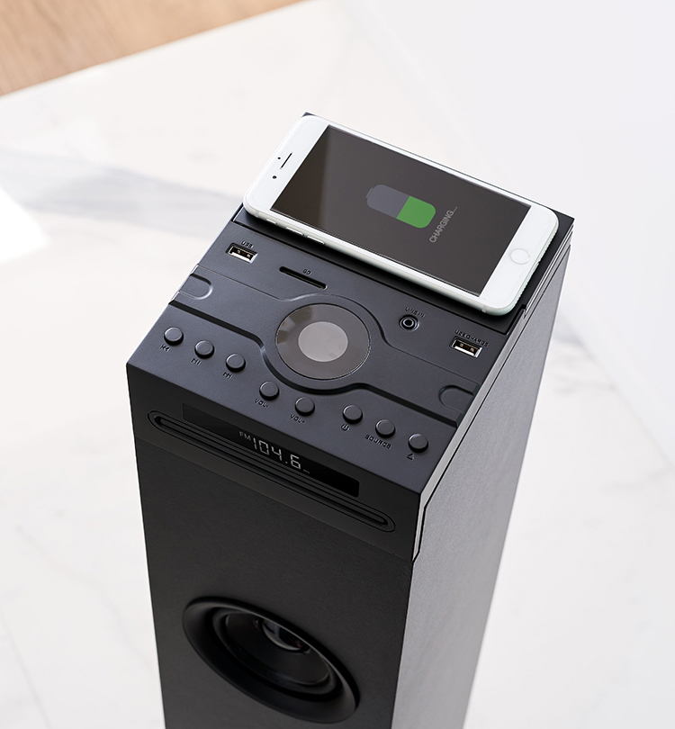 Multimedia tower with wireless charger DS120ICD THOMSON - Image  #2tutu#3