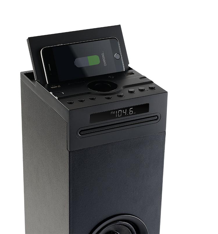 Multimedia tower with wireless charger DS120ICD THOMSON - Image  #2tutu#4tutu#6tutu