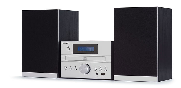 CD/MP3/USB MICRO SYSTEM/DAB+ MIC122DABBT THOMSON - Image  #1