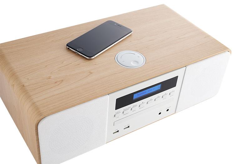 CD/MP3/USB/DAB+ micro system with wireless charger MIC201IDABBT THOMSON - Image  #2tutu#4tutu