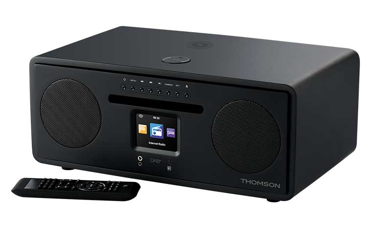 All-in-one Hi-Fi connected system MIC500IWF THOMSON - Image  #2tutu#4tutu