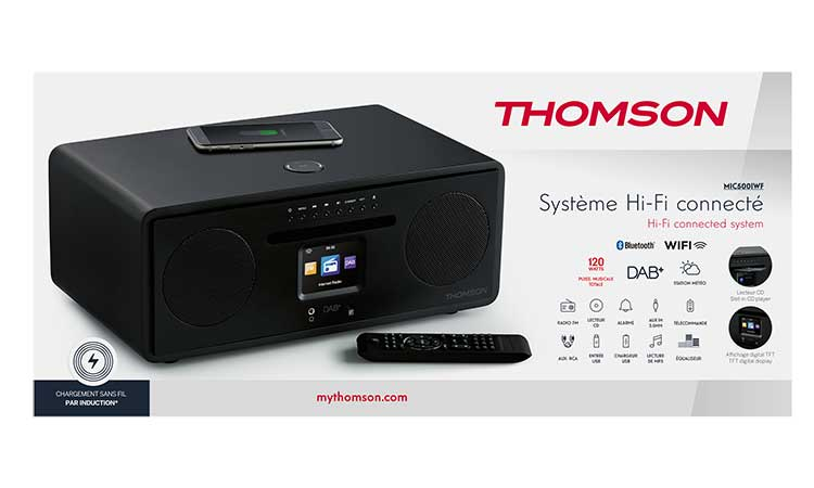 All-in-one Hi-Fi connected system MIC500IWF THOMSON - Image  #2tutu#4tutu#5