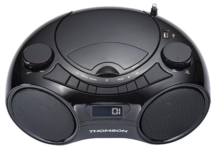 CD/MP3/USB/RADIO portable player RCD210UBT THOMSON - Image