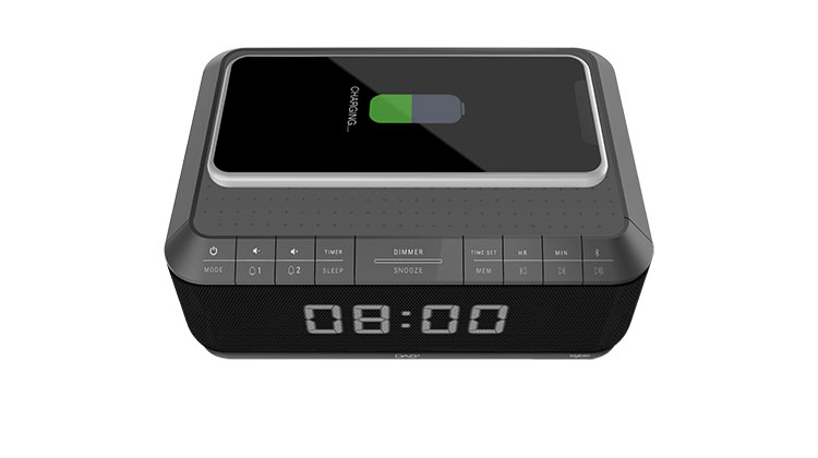 Clock radio with wireless charger/DAB+ RR140IGDAB BIGBEN - Image