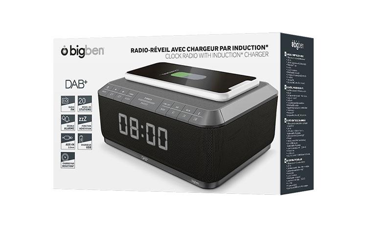 Clock radio with wireless charger/DAB+ RR140IGDAB BIGBEN - Image  #2tutu#4tutu#5