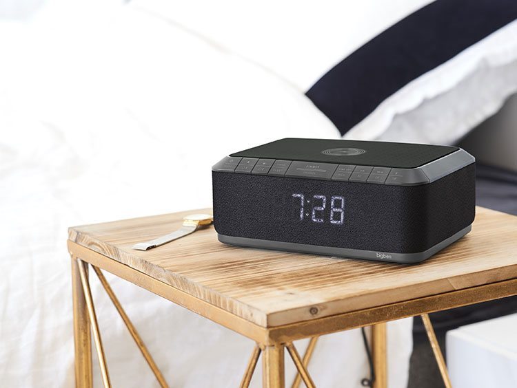 Clock radio with wireless charger RR140IG BIGBEN - Image  #2tutu#3
