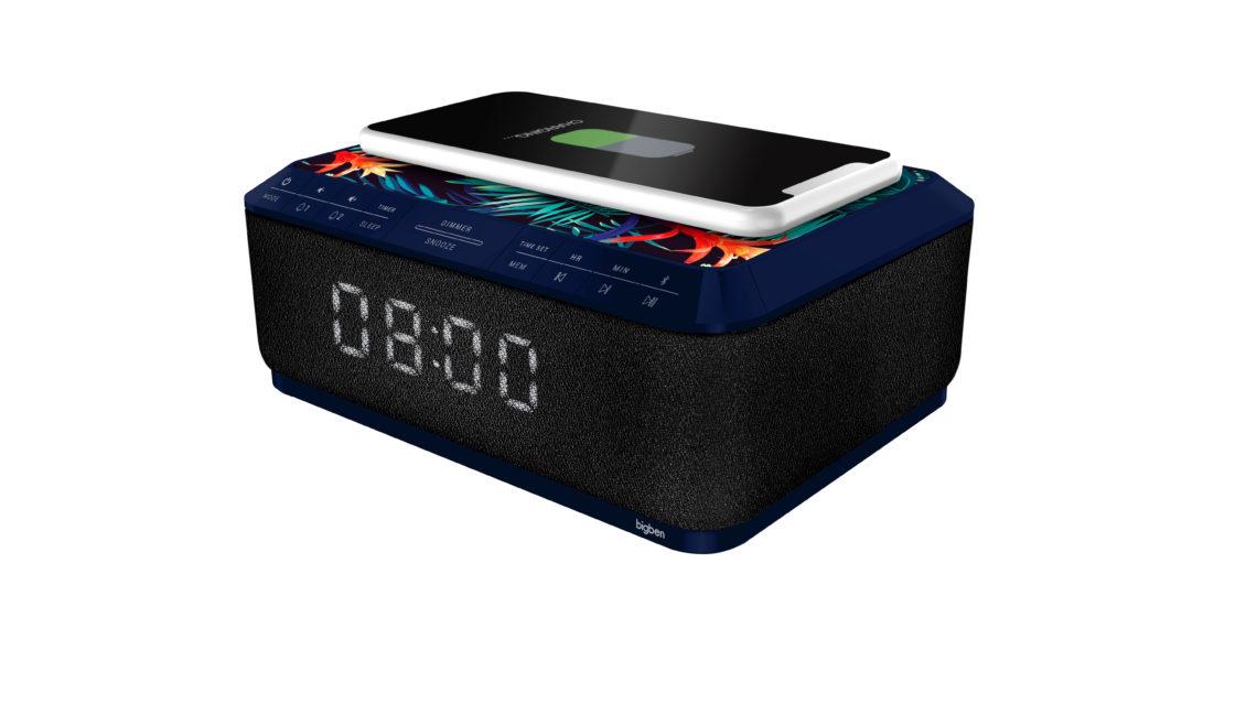 Clock radio with wireless charger RR140IJUNGLE BIGBEN - Image  #2tutu