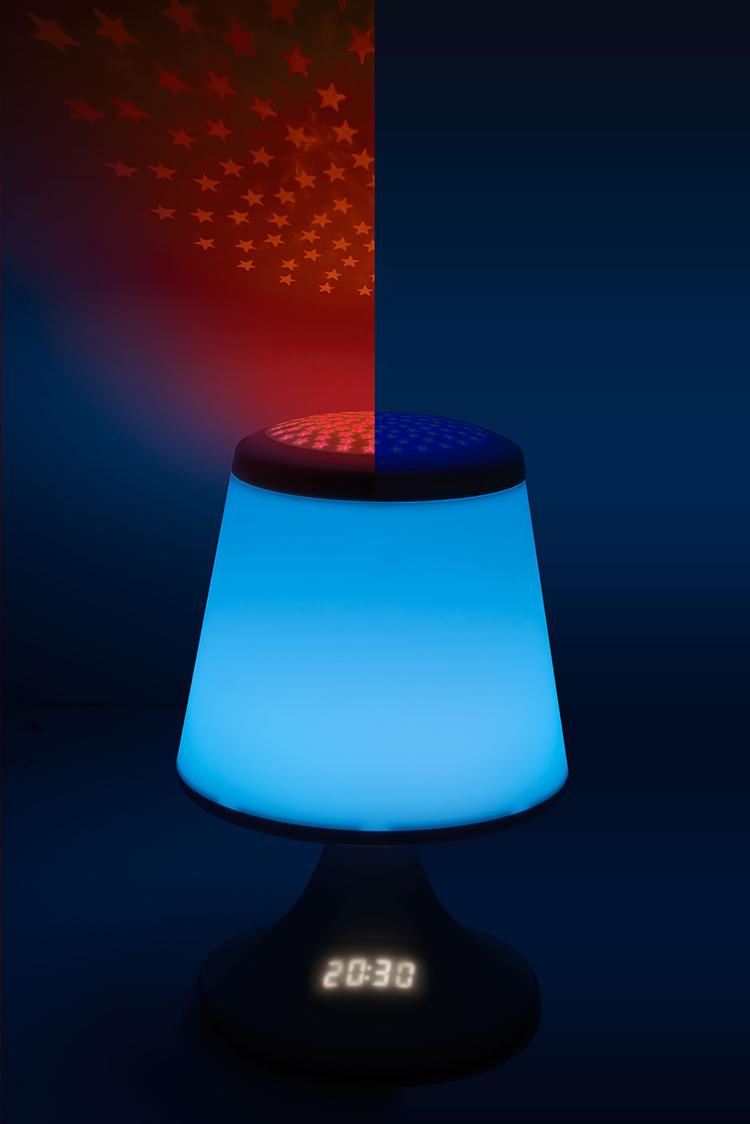 luminous alarm clock with projector - Image  #2tutu#4tutu#6tutu