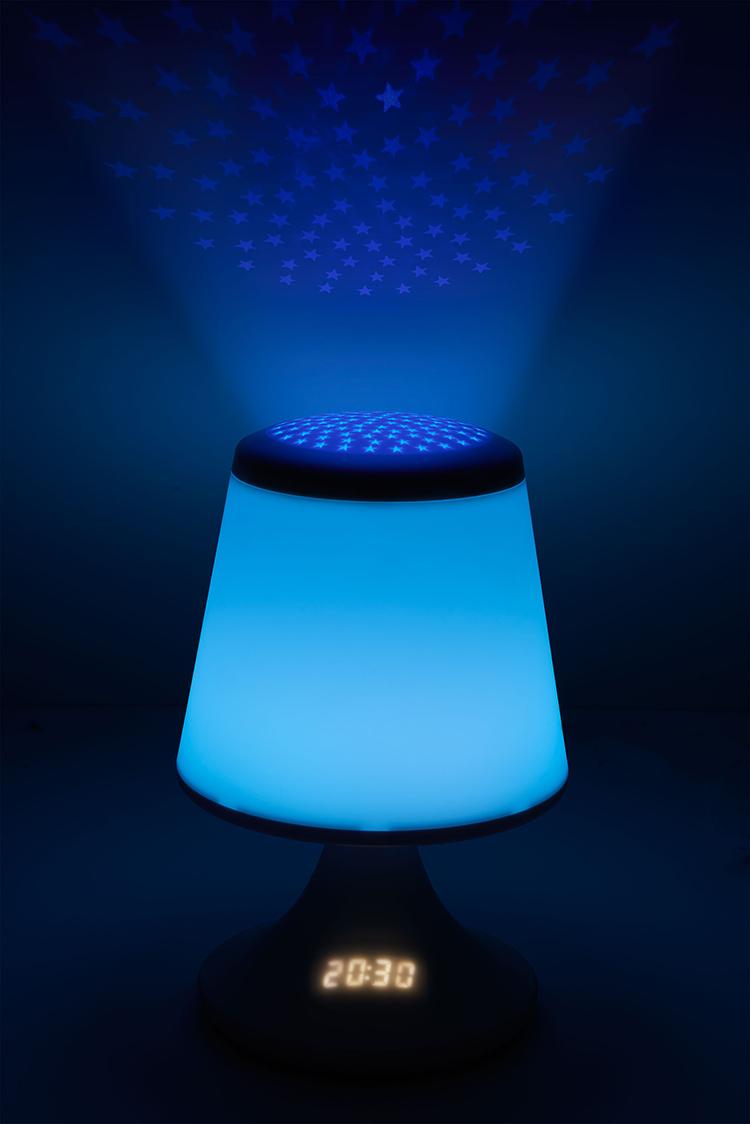 luminous alarm clock with projector - Image  #2tutu#4tutu#6tutu#7