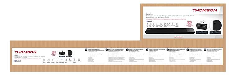 Sound bar with wireless subwoofer SB270IBTWS THOMSON - Image  #2tutu#3