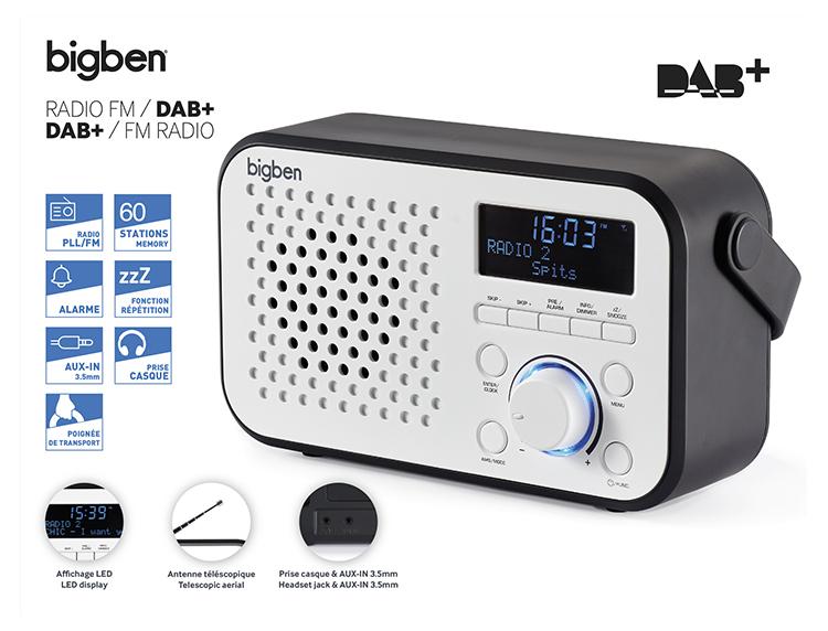 DAB+/FM RADIO TR24DAB BIGBEN - Image  #2tutu#3