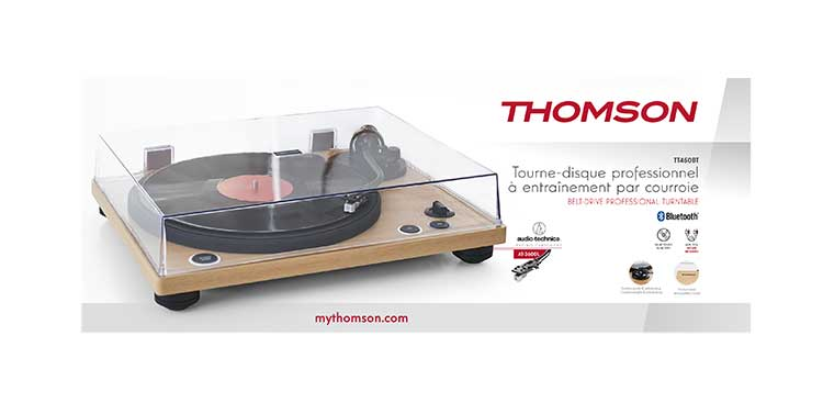 Professional turntable TT450BT THOMSON - Image  #2tutu#4tutu