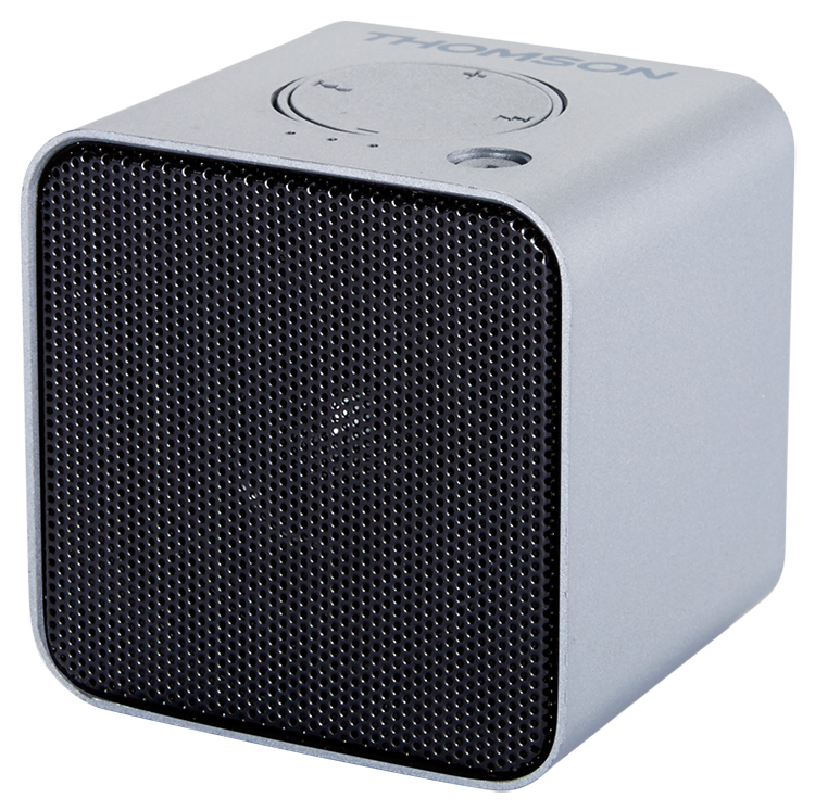 Wireless portable speaker (metallic grey) WS01GM THOMSON - Image