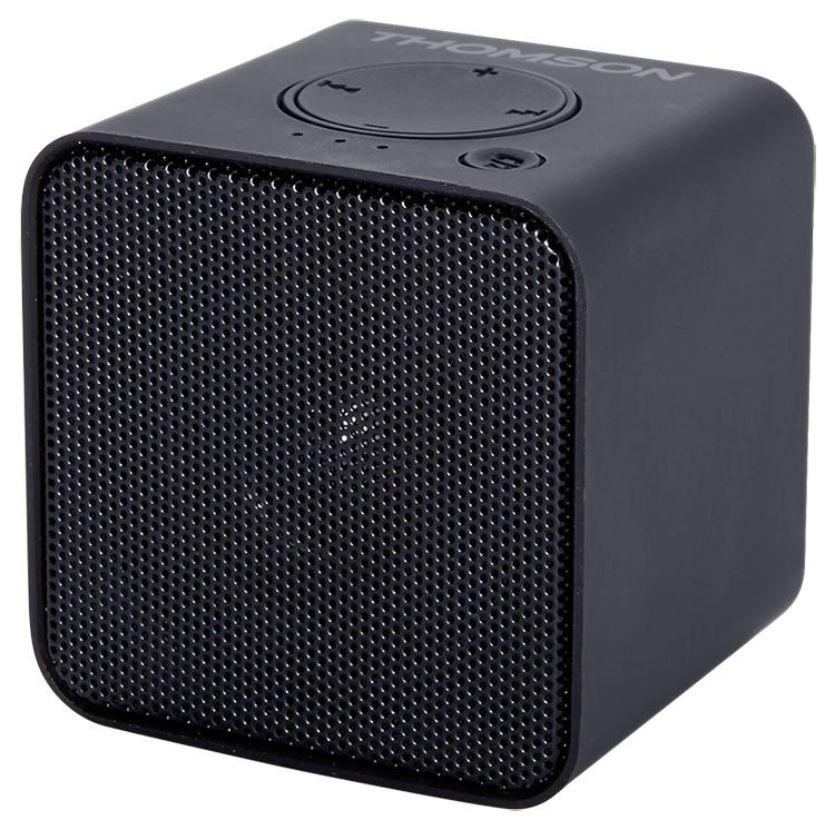 Wireless portable speaker (metallic black) WS01GM THOMSON - Image